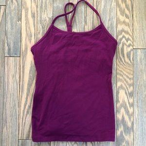 Purple lululemon Workout Tank Top
